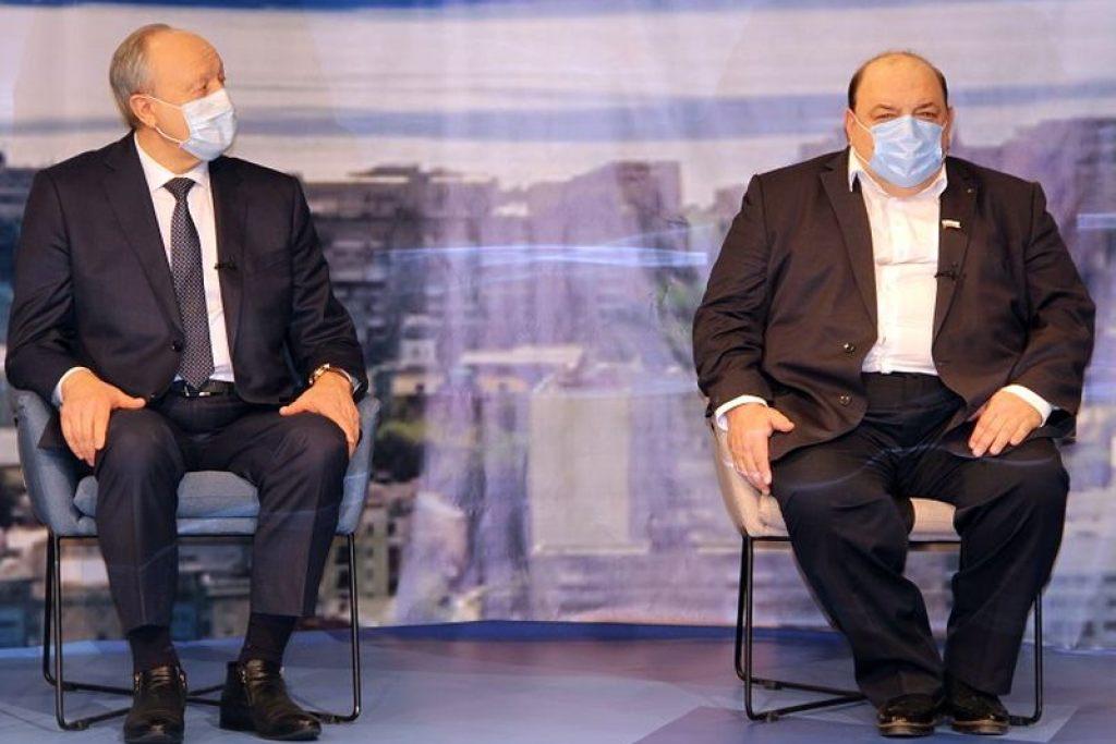 Губернатор Радаев и бал прессы